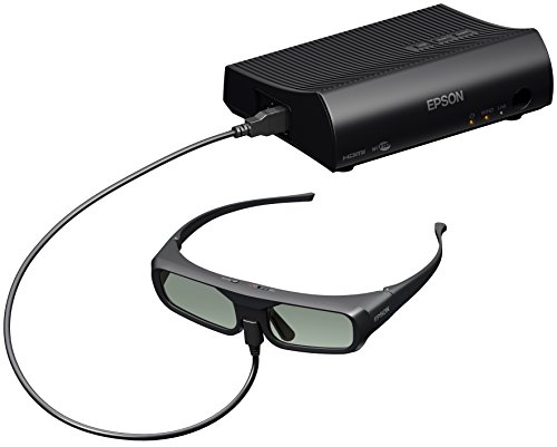 Bild 48: Epson EH-TW6100 3D Heimkino 3LCD-Projektor (Full HD 1080p, 2.300 Lumen Weiß & Farbhelligkeit, 40.000:1 Kontrast, 2x HDMI (1x MHL), inkl. 1x 3D Brille) schwarz