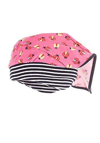 MaxiMo Mädchen Kopftuchmütze 73500-9702 in Rosa (dunkelpink), Kleidergröße:53;Farbe:Rosa (dunkelpink 57)