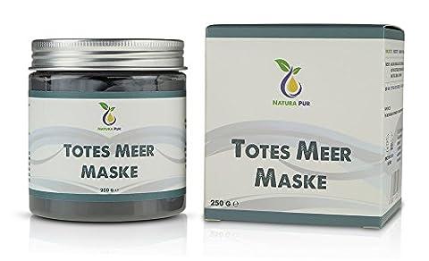 Natürliche Totes Meer Schlamm Maske 250g, vegan - anti Pickel