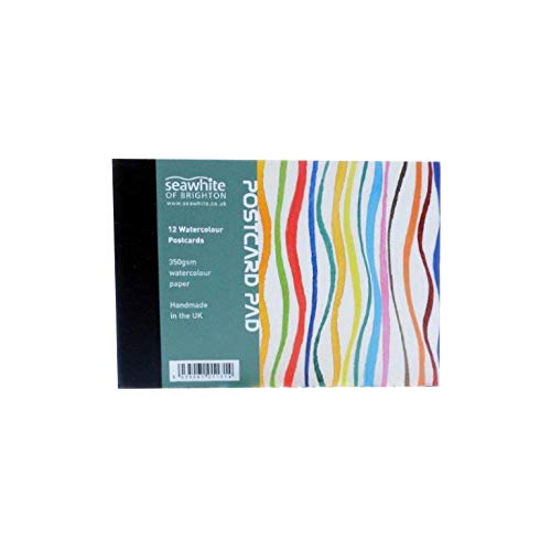 Brighton Medien (Seawhite 350gsm Watercolour Postcard Pad - A6 (10.5 x 14.8cm))