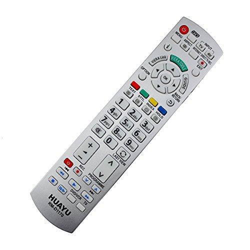 Ersatz Fernbedienung Panasonic N2QAYB000572 LED LCD 3D TV Remote Control - frustfreie Bedienung -