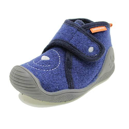 BIOMECANICS - Zapatilla de Andar por casa Biomecanics Sintético Unisex-niños Color: Marino Talla: 21