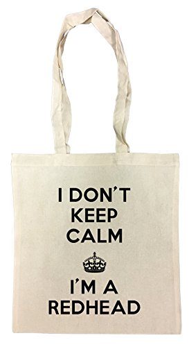 i-dont-keep-calm-im-a-redhead-bolsa-de-compras-de-algodn-reutilizable-cotton-shopping-bag-reusable