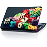 Colourfull Dices Laptop Skin by shopmillions