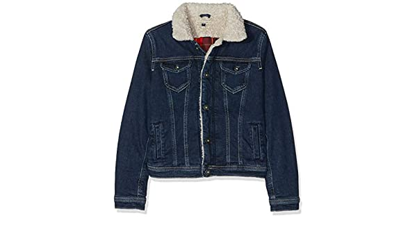 686eaa8a9c375 Pepe Jeans London New Berry Shepherd, Blouson Fille: Amazon.fr: Vêtements  et accessoires