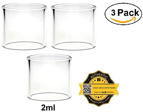 ✅ 100% Authentisch ✅ Ersatz-Glas für den UWELL Crown 3 | 2ml (3 pcs)