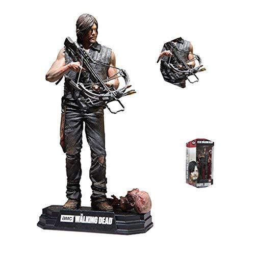 Xuda anime Walking Dead TV-Serie Abbildung Daryl Dixon Movable Statue Model Collection Abbildung