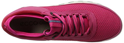 Ecco Damen Cool 2.0 Sneakers Leather Rot (50229beetroot/beetroot)