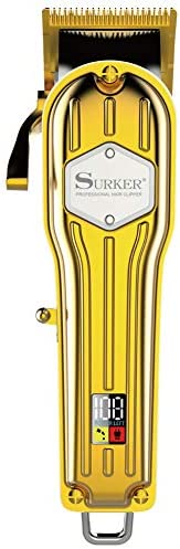 SURKER Pro High-Performance Hair Clipper & Trimmer – Cordless Haircut & Grooming Kit for Men Precision