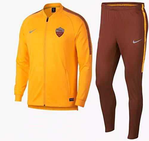 Nike Roma M NK Dry SQD TRK Suit K - Chándal, Hombre, (University Gold/Mars Stone/Mars Stone)
