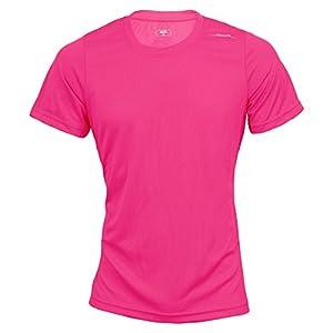 max-Q.com Basic Running Shirt Kinder pink Größe 110