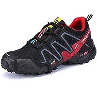 Skeches Calzado Deportivo Malla poca Ayuda Resistente al Desgaste Impermeable Antideslizante Exterior Zapatos de Senderismo, 001, EUR 42.5=UK 8.5