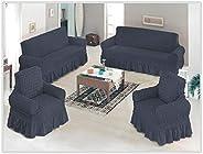 Sofa turkish cover set, elastic, 4 pcs