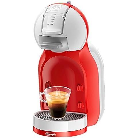 De'Longhi Dolce Gusto Mini Me EDG 305 WR - Cafetera automática, color blanco y rojo