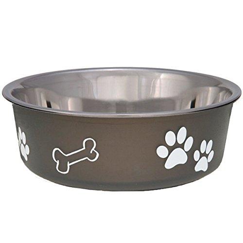 loving-pets-1775-bella-schussel-dog-bowl-extra-l-22-l-espresso