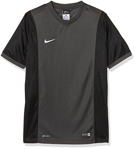 Dri-fit-training Jersey (Nike Kinder Jersey Park Derby Kurzarm Trikot, Anthracite/Black/White, XS)