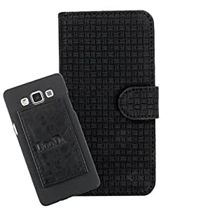 DooDa PU Leather Wallet Flip Case Cover With Card & ID Slots For Alcatel One Touch Idol Ultra - Back Cover Not Included Peel And Paste
