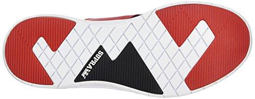 Nero Corsa Homme Bianco rosso Cestini Flusso Marciume bianco Supra 0rZz07F