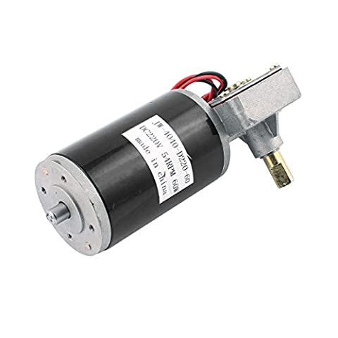 sourcingmap® JW-4040-D220-60 DC 220V 54RPM 60W DC Geared Motor for Electronic Game Machine