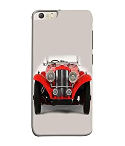 PrintVisa Designer Back Case Cover for Micromax Canvas Knight 2 E471 (Auto Front Lights Classic View American Beautiful Antique)