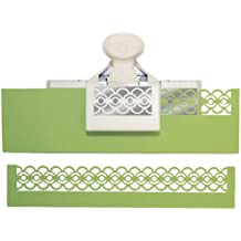 Martha Stewart 42-70028 - Taladradora de bordes para cenefas de papel