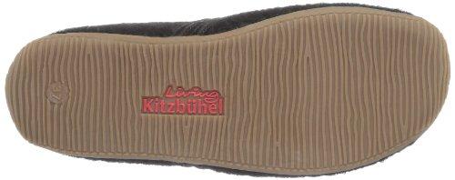 Living Kitzbühel  Pantoffel mit Schmuck und Fußbett,  Pantofole donna Nero (Schwarz (schwarz 900))