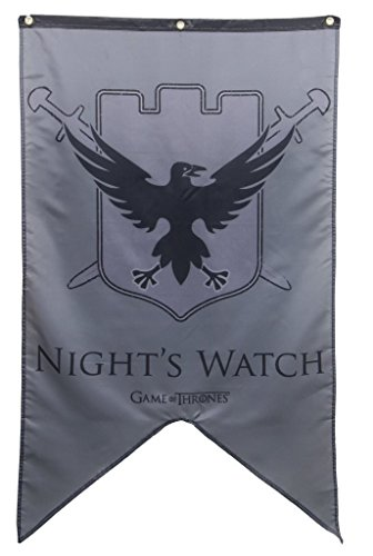 Game Of Thrones Nights Watch Banner (Outdoor Night Games)