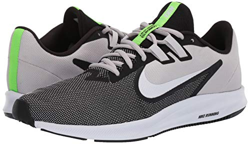 Nike Men's Downshifter 9 Black/White-Vast Grey Running Shoes-9 UK (44 EU) (10 US) (AQ7481-007)