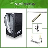 Growset Dark Box Serie 80 2X Secret Jardin LED 52W Wachstum Grow Set Growbox