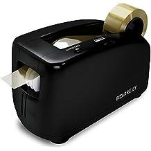 Bizarre.ly Dispensador de Cinta Automático Eléctrico - Dispensador De Cinta Profesional Resistente para Oficina con Núcleo de 2.5cm - Silencioso, Compacto y Portátil - Incluye un Rollo de Cinta Gratis y Garantía