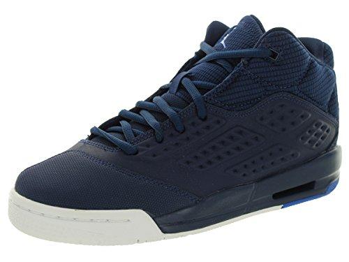 Nike Jordan New School Bg, Chaussures de Sport Garçon, Bleu Bleu / blanc (bleu marine minuit / explosion - blanc)