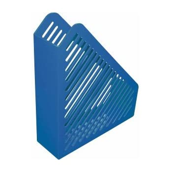 Q-Connect Stehsammler Stehordner hellblau A4 Karton 76mm 750 Blatt Sammler