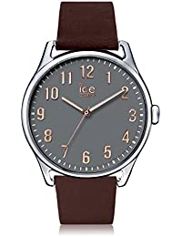 Ice-Watch - ICE time Brown Stone - Montre marron pour homme avec bracelet en cuir - 013046 (Large)