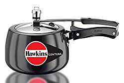 Hawkins Contura Hard Anodized Pressure Cooker, 3 Litres