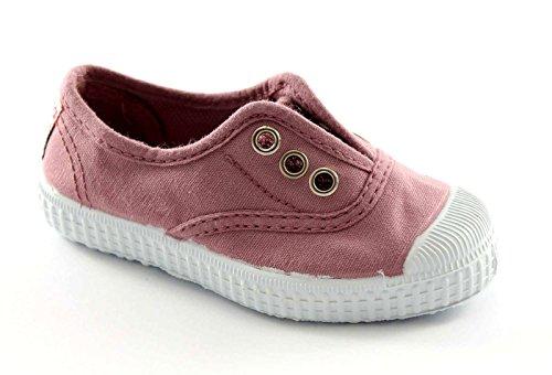 CIENTA 70997 21/27 rosa scarpe bambina elastico tessuto 22