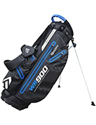 Masters wr900 impermeable soporte Carry bolsa para palos de golf, color negro/azul