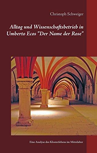Name Analyse (Alltag und Wissenschaftsbetrieb in Umberto Ecos