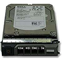 "DELL 400GB 3.5"" SAS - Disco duro (400 GB, 88.9 mm (3.5 ""), 10000 RPM) Negro, Metálico"