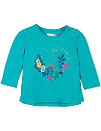 Catimini TS ML jard Trop, T-Shirt Bébé Fille