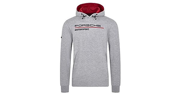 Unbekannt Porsche Motorsport Herren Kapuzenpullover Grau Sport Freizeit