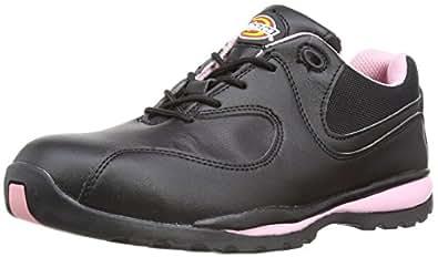 Dickies FD13905 BKP 3 Ohio Chaussures de sécurité  pour femme SB Taille 36 Noir/Rose