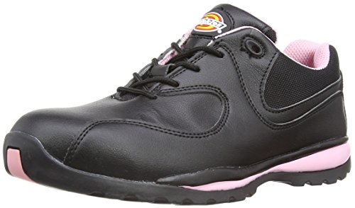 Dickies Ohio Damen Sicherheitsschuh SB schwarz/pink BKP 5, FD13905,38 EU