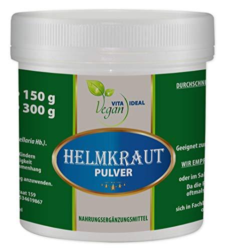 VITAIDEAL 150g. Helmkraut - Pulver (Scutellaria lateriflora), ohne Zusatzstoffe!!! + Messlöffel.