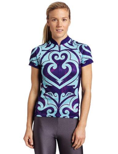 Primal Wear Damen Maori Jersey, damen, blaugrün (Wear Trikot Primal Damen)