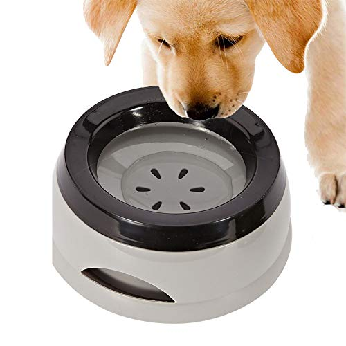 SXJXB Haustier Auslaufsicherer Wassernapf, Rutschfesten, Nicht Nasse Mund Schwimmende Schüssel