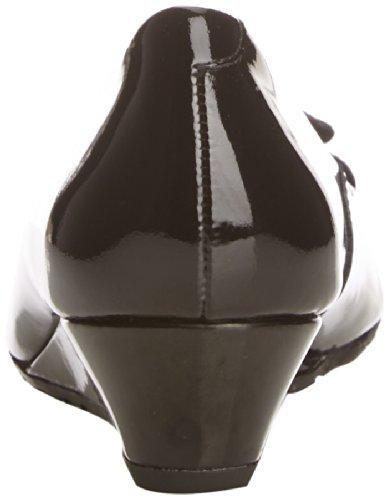 Van Dal  Gabriel,  Damen Pumps Black Patent/Suede