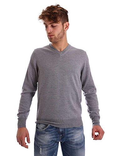 Ea7 emporio armani 6XPMZ7 PM04Z Jumper Man Grey S (Pullover Wolle Armani)