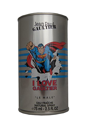 Jean paul gaultier profumo le male eau fraiche superman edt - 75 ml