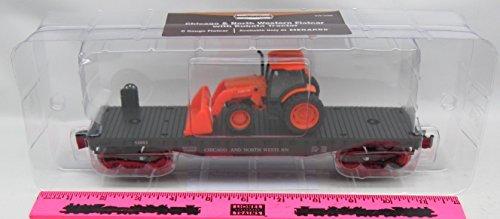 menards-o-gauge-flatcar-with-kubota-tractor