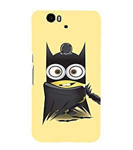 EPICCASE Superhero Minion Mobile Back Case Cover For Huawei Nexus 6P (Designer Case)